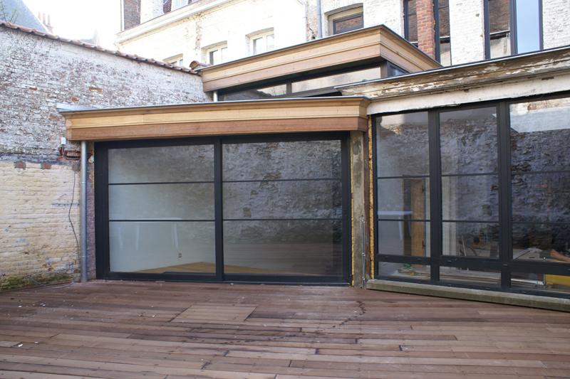 Maison avec cabinet m dical tournai philippe dechenne architecte tournai r novations - Cabinet ophtalmologique du hainaut ...